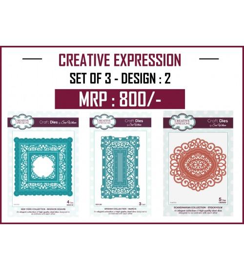 Creative Expressions Cutting Die - Set 2