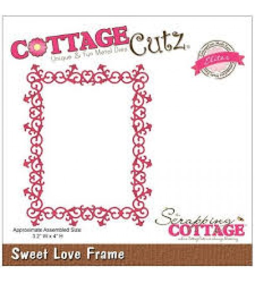 Die-Sweet Love Frame
