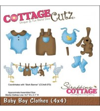 Die-Baby Boy Clothes (4×4)