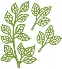 Die-Mosaic Leaves