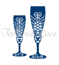 Die - Champagne Glasses