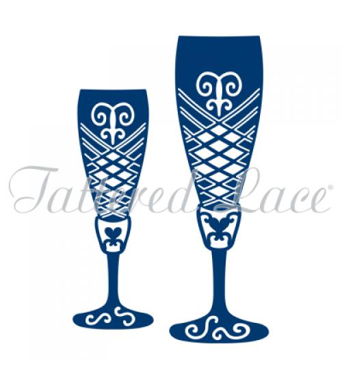 Die - Champagne Glasses