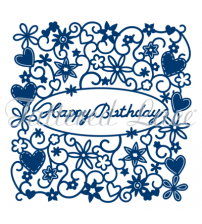 Die - Happy Birthday Tapestry