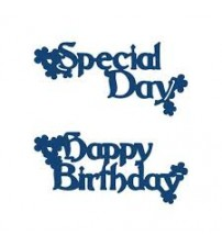 Die - Interlocking Special Day & Happy Birthday