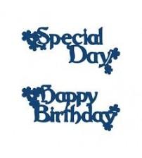 Die - Interlocking Special Day & Happy Birthday