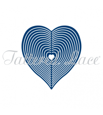 Die - Spinning Charm Heart