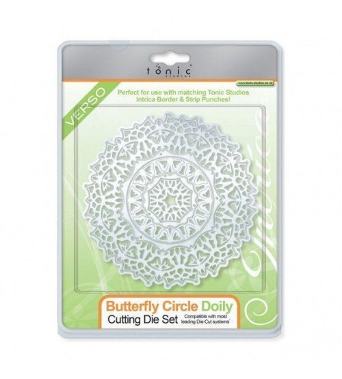 Die - Tonic Butterfly Circle Doily