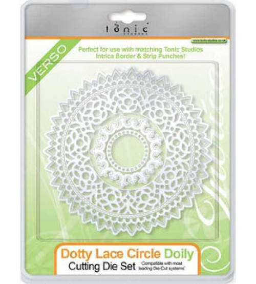 Die - Dotty Lace Circle Doily Cutting Set