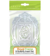 Dies - Royal Frame & Butterfly Insert Set