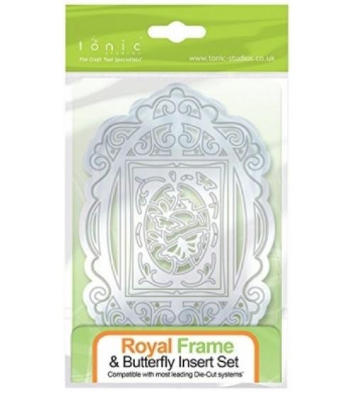 Dies - Royal Frame & Butterfly Insert Set