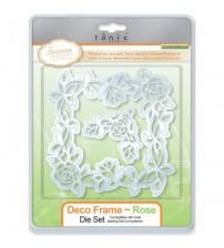 Die - Deco Frame - Rose Die Set