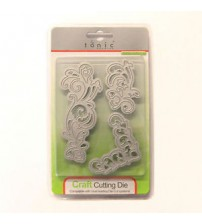 Die - Fanciful Flourish Craft Cutting Die Set