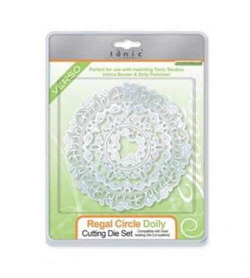 Die - Regal Circle Doily Cutting Die Set