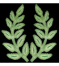 Die-Olive Branches 2 Piece