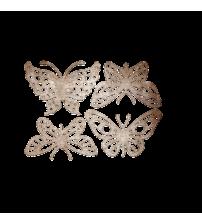 Die-Butterfly #18 4 Piece Set -
