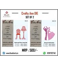 Crafty Ann Cutting Die  Sale