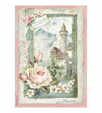 Decoupage Stamperia - A4 Rice Paper - Castle fantasy