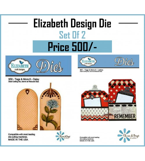 Die - Elizabeth Cutting Die - Set 2