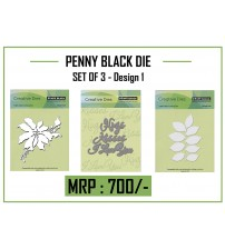 Die- PENNY BLACK CUTTING DIE - Set 1