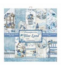 "Stamperia - Blue Land  12""×12"" Scrapbook Papers"