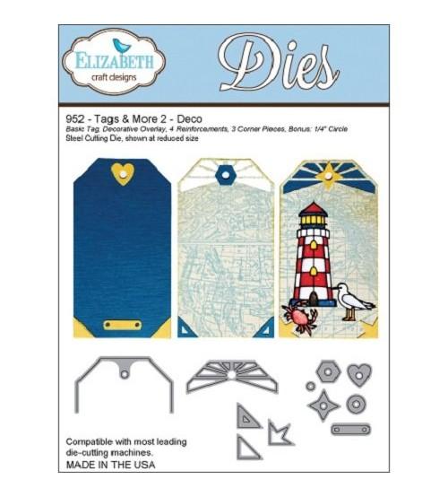 Die Elizabeth Design-Tags & More 2-Deco