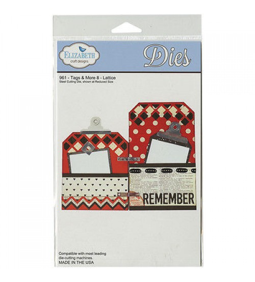 Elizabeth Design-Tags & More 8-Lattice