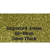 Foam-Gold Glitter 2mm