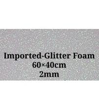 Foam-Silver Glitter 2mm