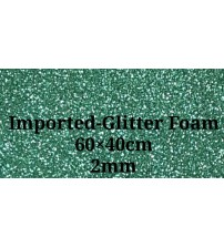 Foam -Dark Green Glitter 2mm