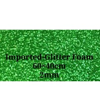 Foam- Green Glitter 2mm