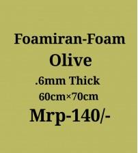 Foamiran - 0.6 mm - Olive
