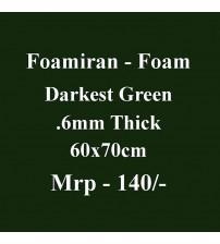 Foamiran - 0.6 mm - Darkest Green