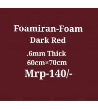 Foamiran - 0.6 mm - Dark Red