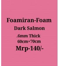 Foamiran - 0.6 mm - Dark Salmon
