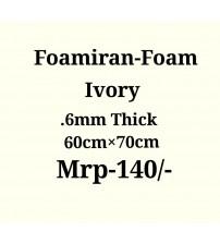 Foamiran - 0.6 mm - Ivory