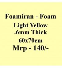 Foamiran - 0.6 mm - Light Yellow