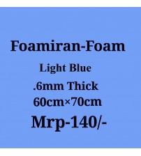 Foamiran - 0.6 mm - Light Blue