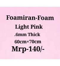 Foamiran - 0.6 mm - Light Pink