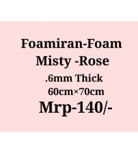 Foamiran - 0.6 mm - Misty Rose
