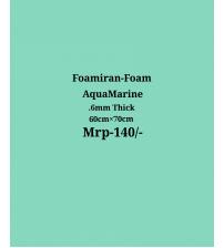 Foamiran - 0.6 mm - Aquamarine