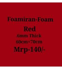 Foamiran - 0.6 mm - Red