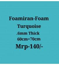 Foamiran - 0.6 mm - Turquoise