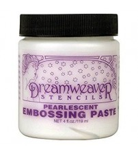 Dreamweaver - Pearlescent Embossing Paste