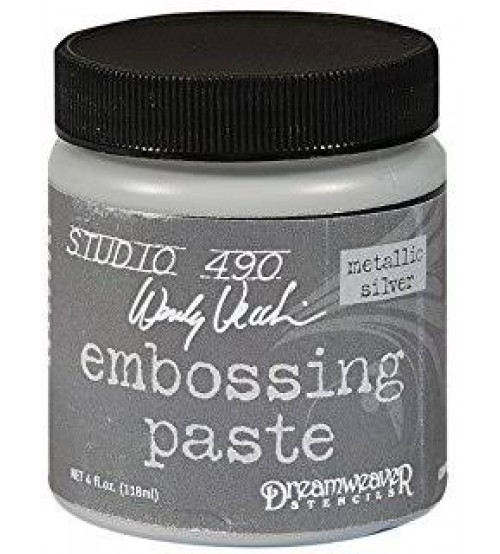 Dreamweaver - Metallic Silver Embossing Paste