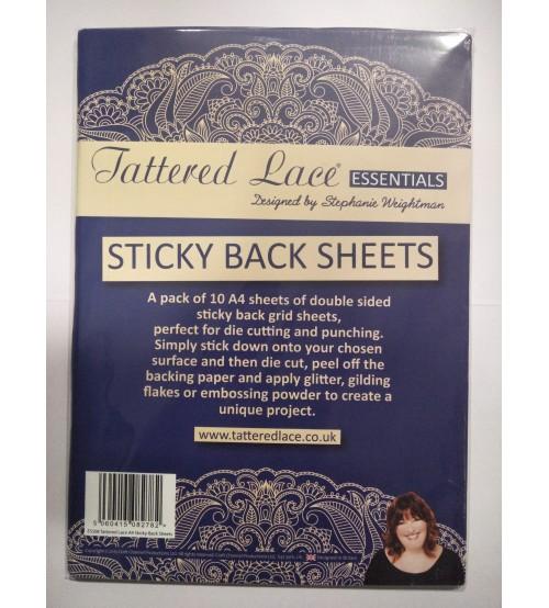 Tattered Lace - Sticky Backsheets