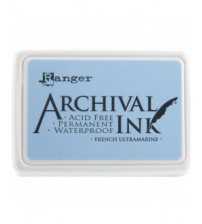 Ink-Archival Ink Pads- French Ultramarine