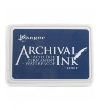 Ink-Archival Ink Pads- Cobalt