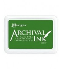 Ink-Archival Ink Pads- Olive
