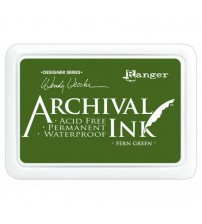 Ink-Archival Ink Pads- Fern Green