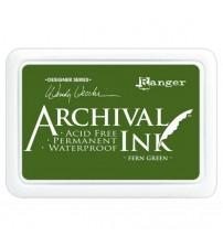 Ink-Archival Ink Pads- Fern Green
